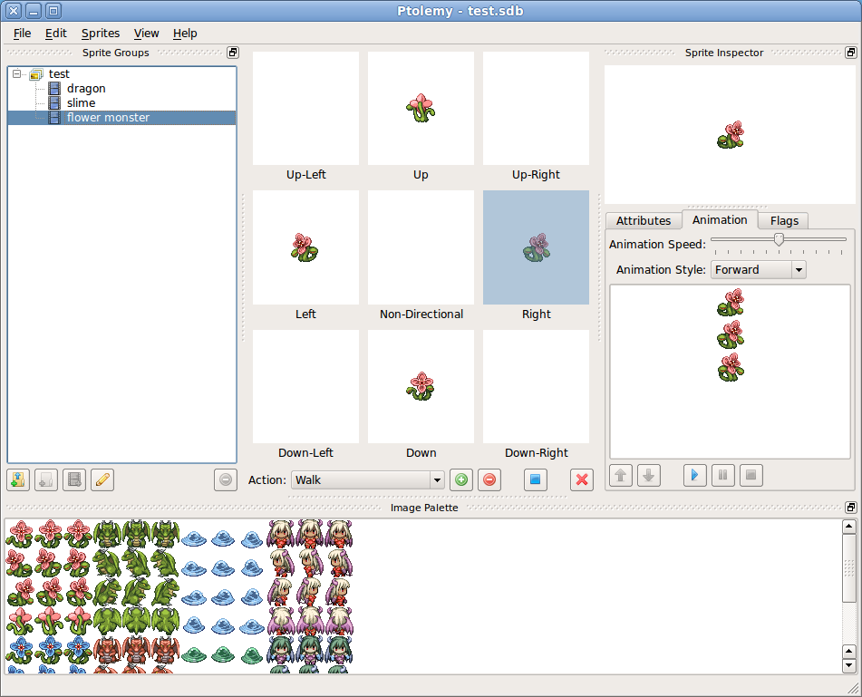 Ptolemy - A Tile-Based-Game Resource Editor